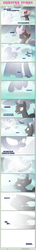 Size: 1475x10271   Tagged: safe, artist:estories, oc, oc only, oc:obsidian, oc:silverlay, original species, umbra pony, comic:seeds of darkness, comic