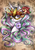 Size: 1653x2337 | Tagged: safe, artist:karmamoonshadow, princess celestia, mask, portrait, solo