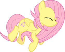 Size: 5000x3976 | Tagged: safe, artist:uxyd, fluttershy, simple background, solo, transparent background, vector