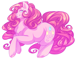 Size: 900x705 | Tagged: artist:morkemime, pinkie pie, safe, solo, tongue out