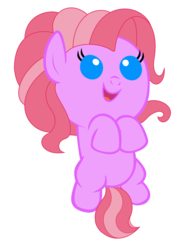 Size: 2400x3200 | Tagged: artist:beavernator, foal, g3.5, g3.5 to g4, generation leap, pinkie pie, safe, solo