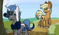 Size: 3000x1786 | Tagged: artist:xwhitedreamsx, gay, male, oc, oc:apple cider, oc:blue gem, oc only, safe