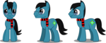 Size: 2346x956 | Tagged: safe, artist:sketchmcreations, oc, oc only, oc:sketch mythos, earth pony, pony, clothes, glasses, scarf, simple background, transparent background