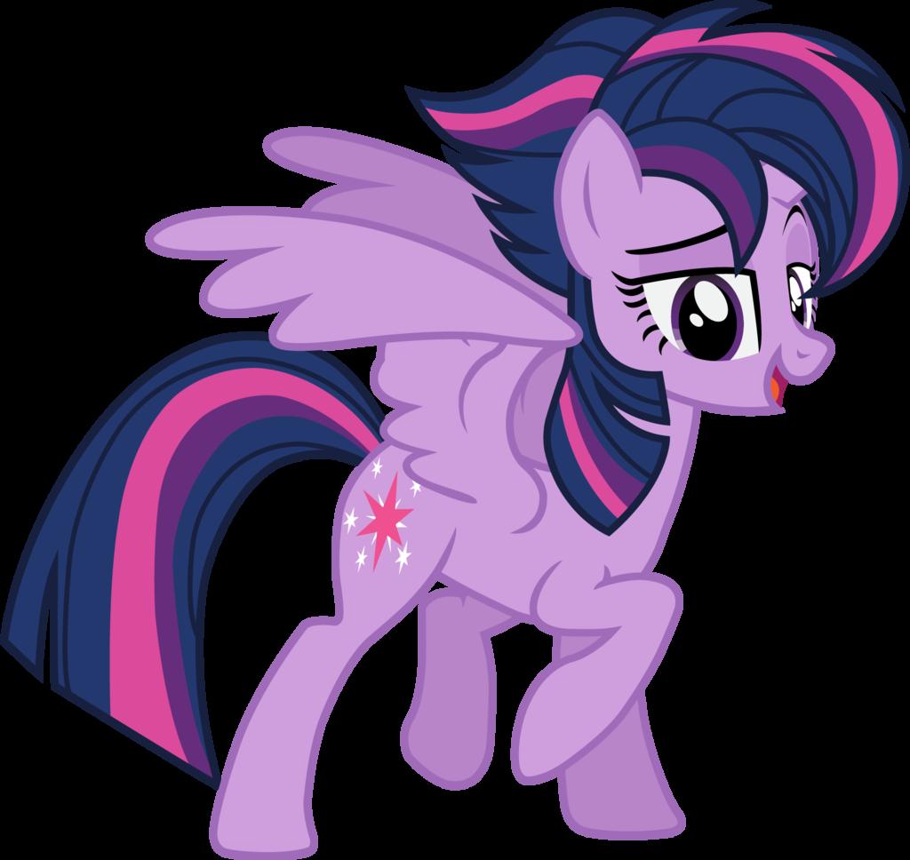 968310 Alicorn Alternate Hairstyle Cute Female G4 Mare Pony Princess Twilight Sparkle Episode Punklight Safe Solo