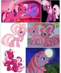 Size: 540x640 | Tagged: safe, screencap, cheerilee, cheerilee (g3), cherry blossom (g3), pinkie pie (g3), earth pony, pony, unicorn, g3, g3.5, google search