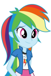 Size: 9129x13754   Tagged: safe, artist:luckreza8, rainbow dash, equestria girls, friendship games, .svg available, absurd resolution, clothes, cute, dashabetes, inkscape, simple background, skirt, smiling, solo, transparent background, vector