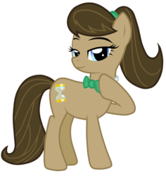 Size: 4719x5000 | Tagged: absurd res, artist:henx125, artist:jennieoo, doctavia, doctor who, doctor whooves, edit, female, fusion, mare, octavia melody, pony, ponytail, recolor, rule 63, safe, solo, tavified, time turner