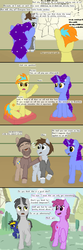 Size: 800x2415 | Tagged: artist:thejakevale, berry punch, berryshine, comic, comic:clockworkfamily, oc, oc:aether, oc:clockwork gear, oc:corona, oc:kori, oc:pewter, pixel art, safe