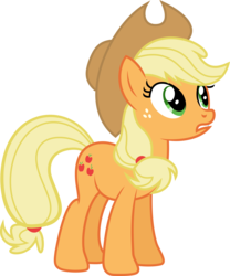 Size: 5083x6105 | Tagged: safe, artist:8-notes, artist:hawk9mm, applejack, appleoosa's most wanted, .svg available, absurd resolution, cowboy hat, female, freckles, hat, ponyscape, simple background, solo, stetson, transparent background, vector