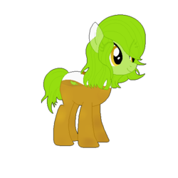 Size: 500x500   Tagged: safe, artist:p0ne-ad0pts, oc, oc only, drink pony, original species, adoptable, drink, green tea, solo