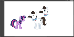 Size: 1550x778 | Tagged: safe, barber groomsby, twilight sparkle, leak, official art