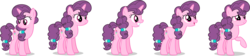 Size: 8924x2000 | Tagged: safe, artist:ambassad0r, artist:lahirien, sugar belle, the cutie map, absurd resolution, cute, female, open mouth, ponyscape, raised hoof, simple background, solo, sugarbetes, transparent background, vector
