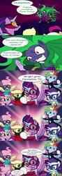 Size: 639x1801 | Tagged: safe, artist:doublewbrothers, artist:futzi01, applejack, fili-second, fluttershy, mane-iac, masked matter-horn, mistress marevelous, pinkie pie, radiance, rainbow dash, rarity, saddle rager, twilight sparkle, zapp, alicorn, pony, power ponies (episode), canterlot siege, canterlot siege 4, female, flash, game, mare, power ponies, twilight sparkle (alicorn)