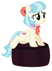 Size: 3675x5034 | Tagged: safe, artist:masem, coco pommel, pony, made in manehattan, .ai available, female, simple background, solo, transparent background, vector