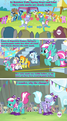 Size: 872x1572 | Tagged: safe, edit, edited screencap, screencap, amethyst star, berry punch, berryshine, blaze, brolly, carrot top, cloud kicker, daisy, dizzy twister, doctor whooves, flower wishes, golden harvest, lemon hearts, lightning bolt, lilac sky, merry may, minuette, orange swirl, roseluck, sassaflash, shining armor, soarin', sparkler, spitfire, spring melody, spring step, sprinkle medley, sunlight spring, sunshower raindrops, surprise, time turner, white lightning, whitewash, alicorn, pegasus, pony, unicorn, equestria games (episode), rainbow falls, alicornified, caption, cheering, cheerleader, clothes, cutie mark, equestria games, female, image macro, lemoncorn, male, mare, meme, pants, race swap, sexy, skirt, stallion