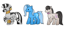 Size: 1280x582 | Tagged: safe, artist:lexissketches, octavia melody, trixie, zecora, pony, unicorn, zebra, backwards cutie mark, female, mare