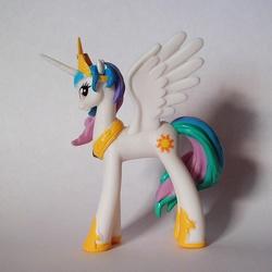 Size: 999x1000 | Tagged: safe, princess celestia, figure, irl, magazine figure, photo, toy