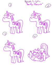 Size: 4779x6013   Tagged: safe, artist:adorkabletwilightandfriends, twilight sparkle, alicorn, pony, absurd resolution, adorkable twilight, book, color, comic, female, humor, mare, physics, reading, sketch, slice of life, that pony sure does love books, twilight sparkle (alicorn)