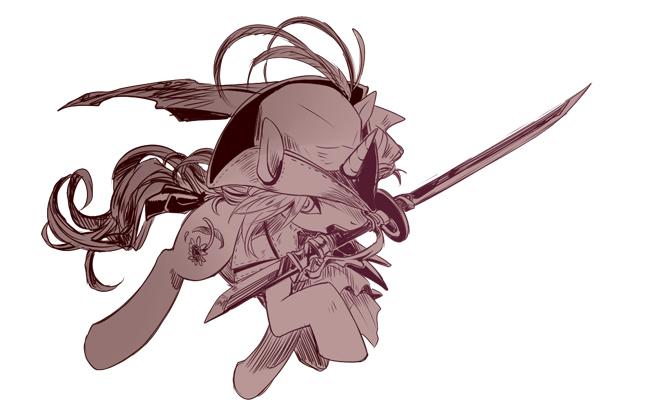 1067333 Artistmurai Shinobu Bloodborne Crossover Hat Lady