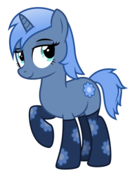Size: 3500x4463 | Tagged: safe, artist:masem, oc, oc only, oc:paamayim nekudotayim, pony, unicorn, clothes, show accurate, simple background, socks, solo, transparent background, vector