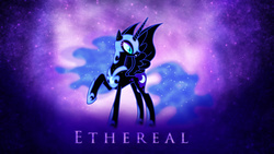 Size: 2560x1440 | Tagged: artist:90sigma, artist:sgtwaflez, female, nightmare moon, safe, solo, wallpaper