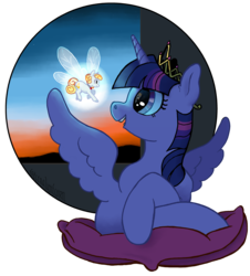 Size: 4043x4466   Tagged: safe, artist:spectralunicorn, twilight sparkle, oc, oc:yellowstar, alicorn, pony, fanfic:the star in yellow, absurd resolution, faerie, twilight sparkle (alicorn)