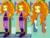 Size: 720x540 | Tagged: safe, screencap, adagio dazzle, equestria girls, rainbow rocks, coincidence, meme, pencil, solo, that orange pencil