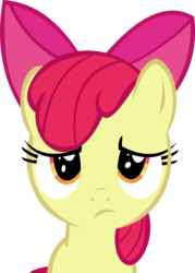 Size: 9451x13206 | Tagged: absurd res, apple bloom, artist:cyanlightning, safe, simple background, solo, .svg available, transparent background, vector