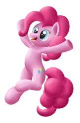 Size: 790x1220 | Tagged: safe, artist:uber-dragon, pinkie pie, female, solo
