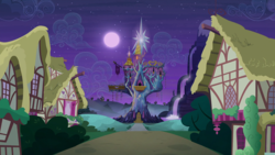 Size: 1920x1080 | Tagged: safe, screencap, to where and back again, no pony, ponyville, twilight's castle