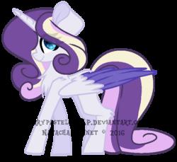 Size: 617x566   Tagged: safe, artist:flurrypastels-mlp, oc, oc only, oc:gatia, alicorn, pony, alicorn oc, simple background, solo, transparent background