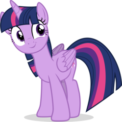 Size: 3500x3509 | Tagged: safe, artist:eagle1division, twilight sparkle, alicorn, pony, ppov, .svg available, cute, female, folded wings, mare, simple background, smiling, solo, transparent background, twiabetes, twilight sparkle (alicorn), vector