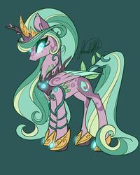 Size: 3600x4500   Tagged: safe, artist:jadedjynx, oc, oc only, oc:princess gaia, alicorn, pony, absurd resolution, alicorn oc, nature, princess, solo