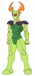 Size: 555x1203 | Tagged: artist:combatkaiser, changedling, changeling, humanoid, kamen rider, king thorax, safe, simple background, solo, thorax, to where and back again, transparent background