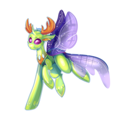 Size: 3000x3000 | Tagged: safe, artist:sunshinejoyyt, thorax, changedling, to where and back again, king thorax, simple background, solo, transparent background