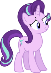 Size: 6400x9226 | Tagged: safe, artist:deratrox, starlight glimmer, no second prances, .svg available, absurd resolution, simple background, solo, transparent background, vector