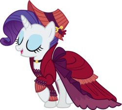 Size: 9606x8598 | Tagged: safe, artist:pink1ejack, merry, rarity, a hearth's warming tail, absurd resolution, album cover, clothes, eyes closed, female, it's a pony kind of christmas, open mouth, raised hoof, simple background, solo, transparent background, vector
