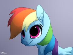 Size: 1600x1200 | Tagged: safe, artist:luminousdazzle, rainbow dash, pegasus, pony, cute, dashabetes, female, mare, smiling, solo