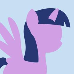 Size: 512x512   Tagged: safe, twilight sparkle, alicorn, pony, derpibooru, .svg available, avatar, derpibooru background pony icon, female, mare, meta, simple background, solo, spread wings, svg, template, twilight sparkle (alicorn), vector