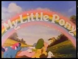 Size: 480x360   Tagged: safe, screencap, pony, g1, my little pony 'n friends, my little pony logo, theme song