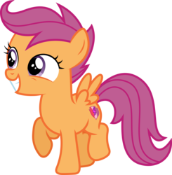 Size: 6001x6135 | Tagged: safe, artist:deratrox, scootaloo, pegasus, pony, newbie dash, absurd resolution, cutie mark, female, filly, simple background, solo, the cmc's cutie marks, transparent background, vector