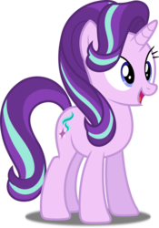 Size: 3494x5000 | Tagged: safe, artist:dashiesparkle, starlight glimmer, pony, unicorn, every little thing she does, .svg available, absurd resolution, cute, female, glimmerbetes, happy, mare, open mouth, simple background, solo, transparent background, vector