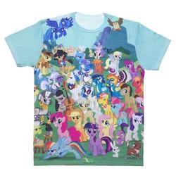 Size: 1000x1000 | Tagged: safe, angel bunny, applejack, berry punch, berryshine, big macintosh, braeburn, carrot cake, cheerilee, cup cake, derpy hooves, dj pon-3, doctor whooves, fluttershy, granny smith, gummy, hoity toity, little strongheart, mayor mare, octavia melody, opalescence, owlowiscious, pinkie pie, pokey pierce, prince blueblood, princess luna, rainbow dash, rarity, snails, snips, soarin', spike, spitfire, time turner, trixie, twilight sparkle, vinyl scratch, winona, zecora, buffalo, earth pony, pony, unicorn, zebra, clothes, irl, joe, male, mane seven, mane six, merchandise, photo, s1 luna, shirt, stallion, t-shirt, unicorn twilight, welovefine