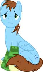 Size: 721x1200 | Tagged: safe, artist:jp, derpibooru exclusive, oc, oc only, oc:jp, pegasus, pony, 2017 community collab, derpibooru community collaboration, .svg available, clothes, cutie mark, frown, male, simple background, socks, solo, stallion, striped socks, svg, transparent background, vector