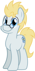 Size: 3000x6009 | Tagged: safe, artist:pirill, derpibooru exclusive, oc, oc only, oc:star farer, earth pony, pony, 2017 community collab, derpibooru community collaboration, absurd resolution, cheek fluff, cutie mark, glasses, male, simple background, solo, stallion, transparent background, vector