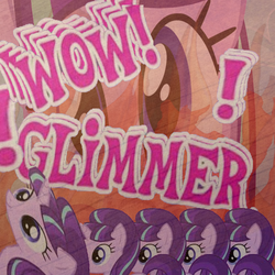 Size: 500x500 | Tagged: safe, starlight glimmer, faic, glimmerposting, meme, multeity, starlight cluster, this will end in communism, this will end in timeline distortion, wow! glimmer