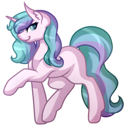 Size: 3427x3454 | Tagged: safe, artist:amazing-artsong, oc, oc only, oc:aurora borealis, pony, unicorn, female, looking at you, mare, simple background, solo, transparent background