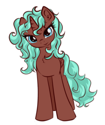 Size: 1540x1846 | Tagged: safe, artist:sapsan, oc, oc only, oc:equie, alicorn, pony, 2017 community collab, derpibooru community collaboration, alicorn oc, chest fluff, fluffy, head tilt, lidded eyes, looking at you, messy mane, simple background, solo, transparent background