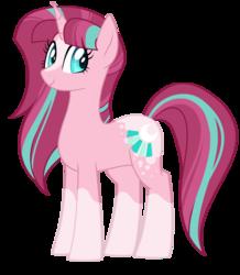 Size: 1024x1172   Tagged: safe, artist:azure-art-wave, oc, oc only, oc:moonshine, pony, unicorn, blaze (coat marking), coat markings, facial markings, female, mare, offspring, parent:starlight glimmer, parent:sunburst, parents:starburst, simple background, socks (coat markings), solo, transparent background