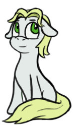 Size: 1797x3053 | Tagged: safe, artist:purgeslc, oc, oc only, earth pony, pony, 2017 community collab, derpibooru community collaboration, male, simple background, sitting, solo, stallion, transparent background
